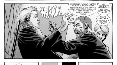 Rick Grimes Saves Governor Milton (The Walking Dead)