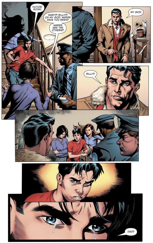 Billy Batson Reunites With His Father (Rebirth)