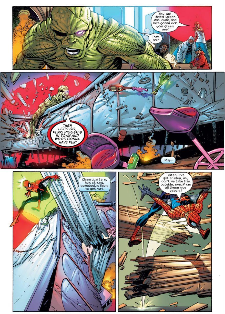 Digger VS Spider-Man