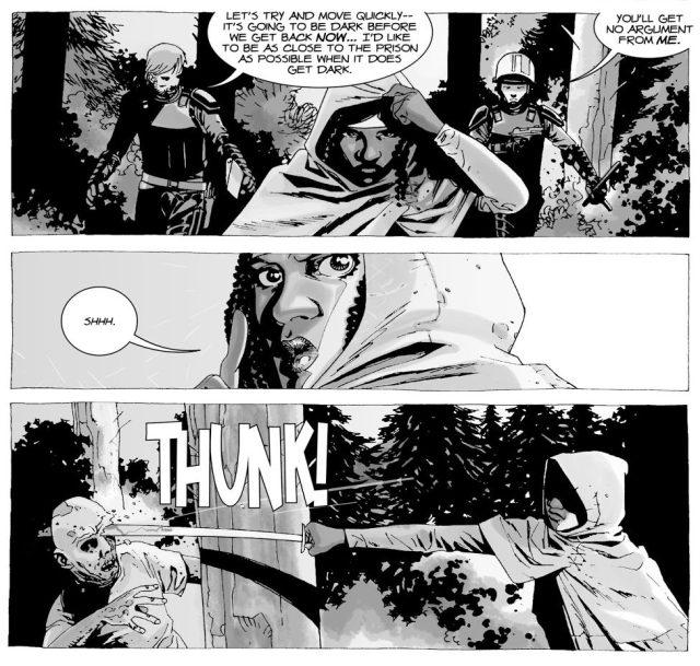How Michonne Got Her Katana (The Walking Dead)