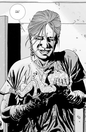 Lori Grimes Gives Birth To Judith (The Walking Dead)