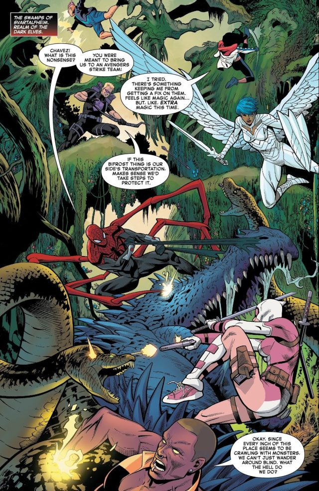 Superior Spider-Man And The West Coast Avengers