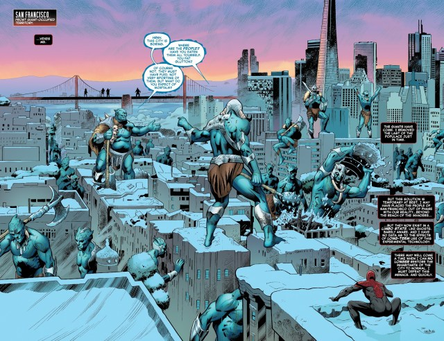 Superior Spider-Man VS Frost Giants