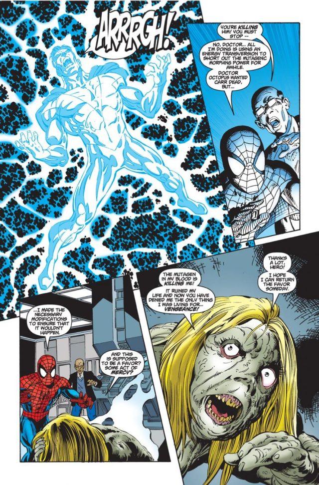 Spider-Man VS Captain Power