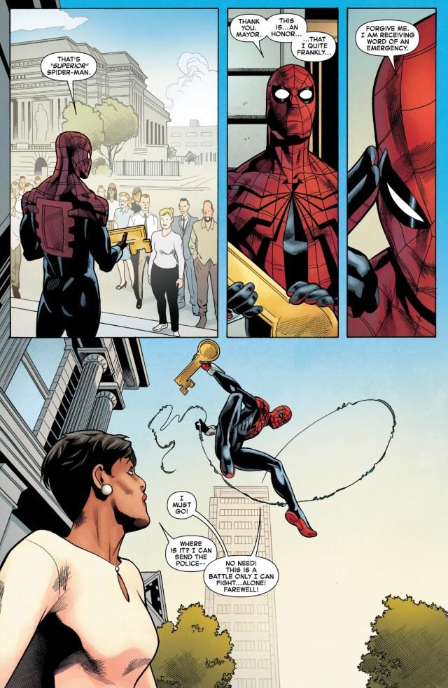 Superior Spider-Man Awarded With San Francisco's Key