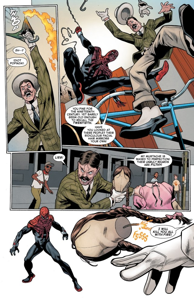 Superior Spider-Man VS Turner D Century