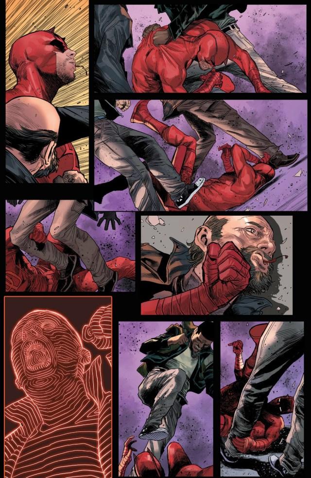 Darevil Kills A Robber