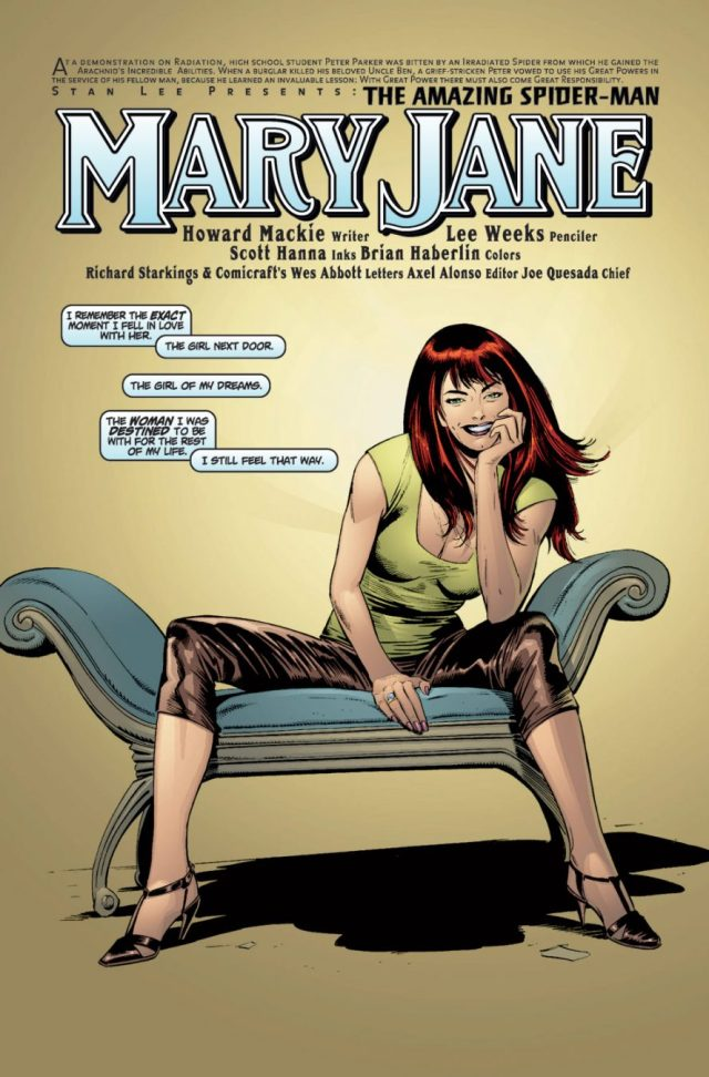 Mary Jane Parker (The Amazing Spider-Man Vol. 2 #29)