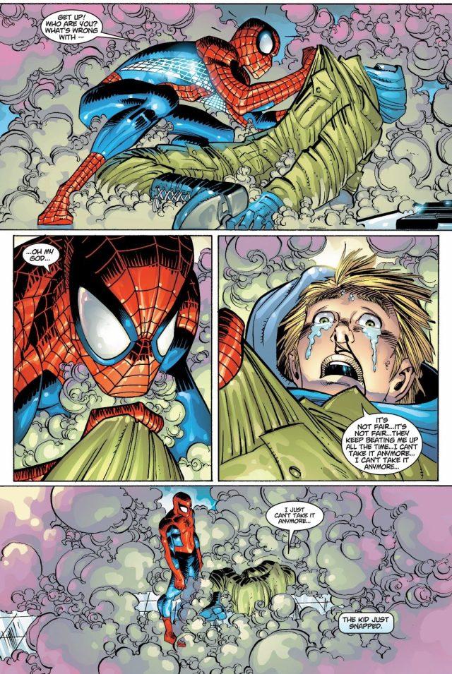Spider-Man Stops A School Shooting