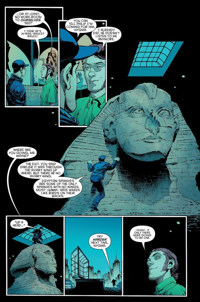 Bruce Wayne And The Riddler's First Meeting (New 52)