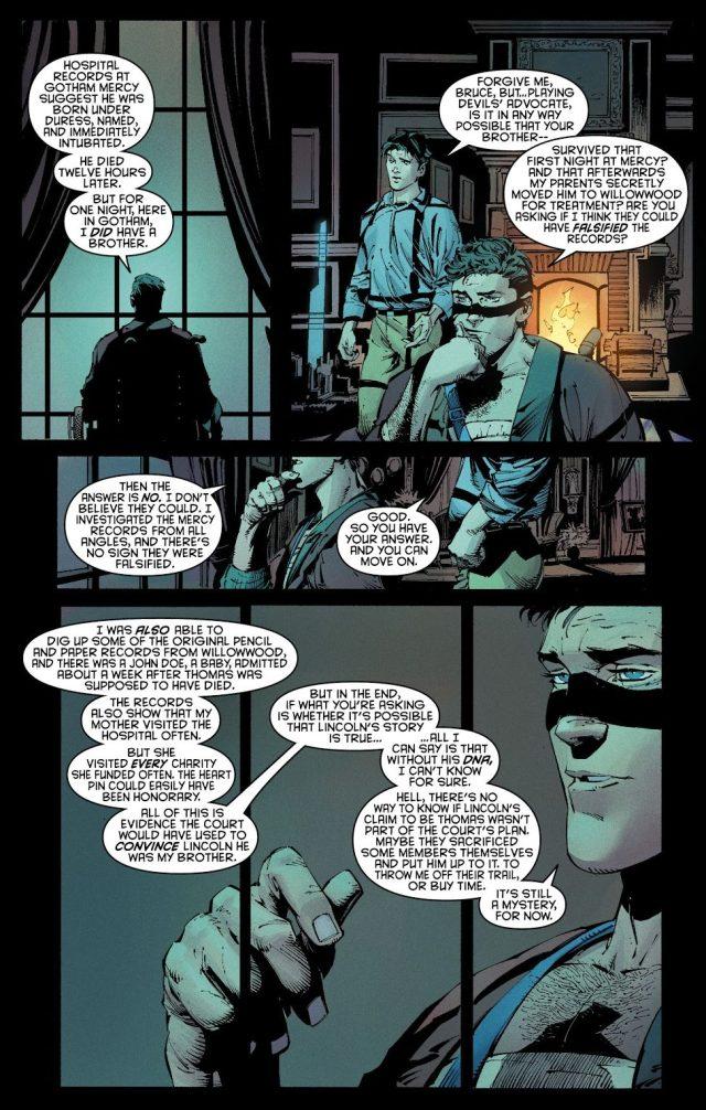 Bruce Wayne Had A Brother (New 52)