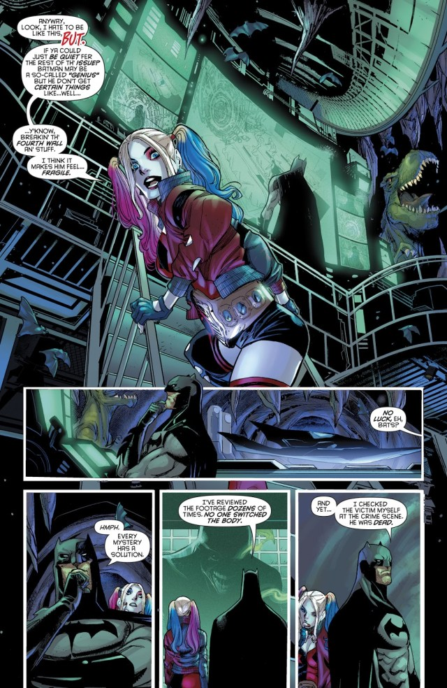 Harley Quinn Inside The Batcave
