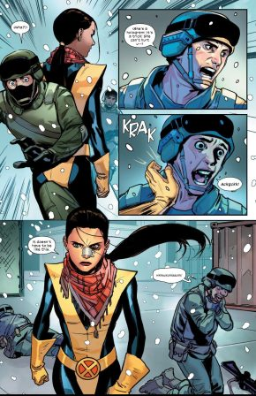 Kitty Pryde VS Russians (Marauders Vol. 1 #1)