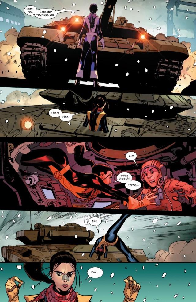 Kitty Pryde VS Russians (Marauders Vol. 1 #1)