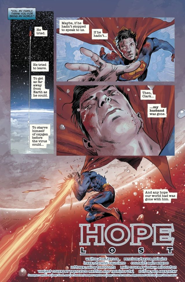 Superman Becomes A Zombie (DCeased)