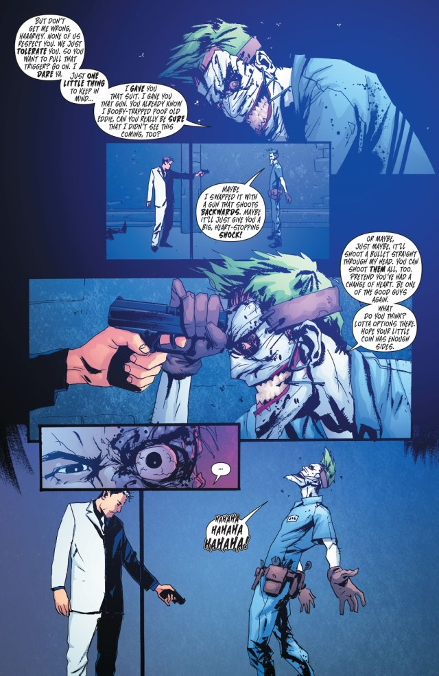 The Joker Bluffs Two-Face (Death Of The Family)