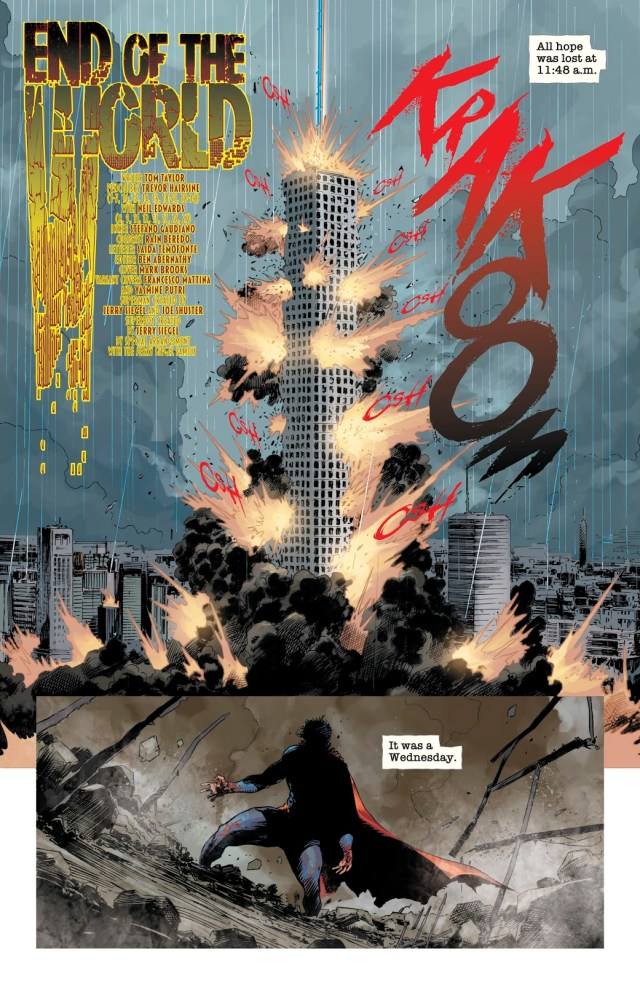 Zombie Superman (DCeased #6)