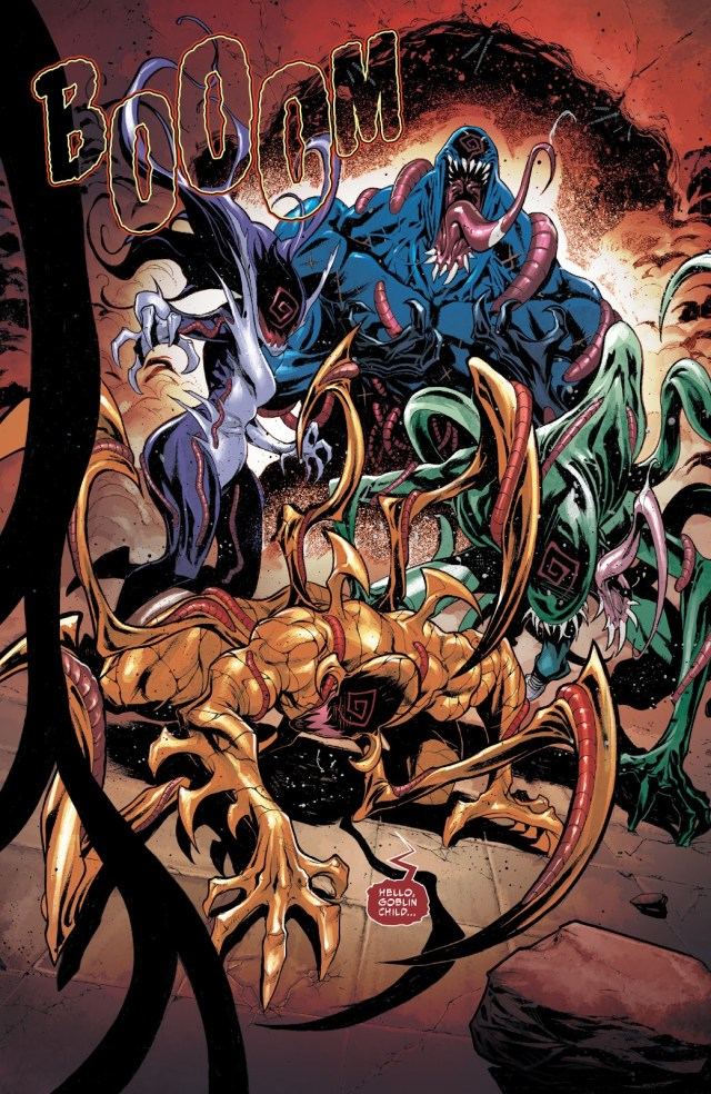 Agony, Phage, Riot And Lasher (Venom Vol. 4 #17)