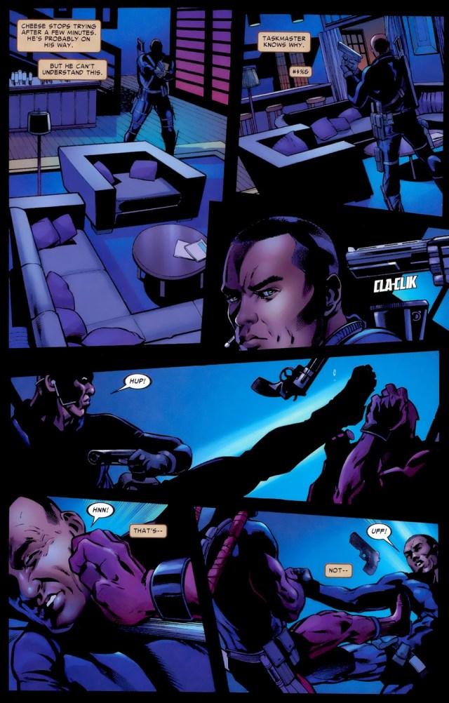 Marcus Johnson VS Deadpool