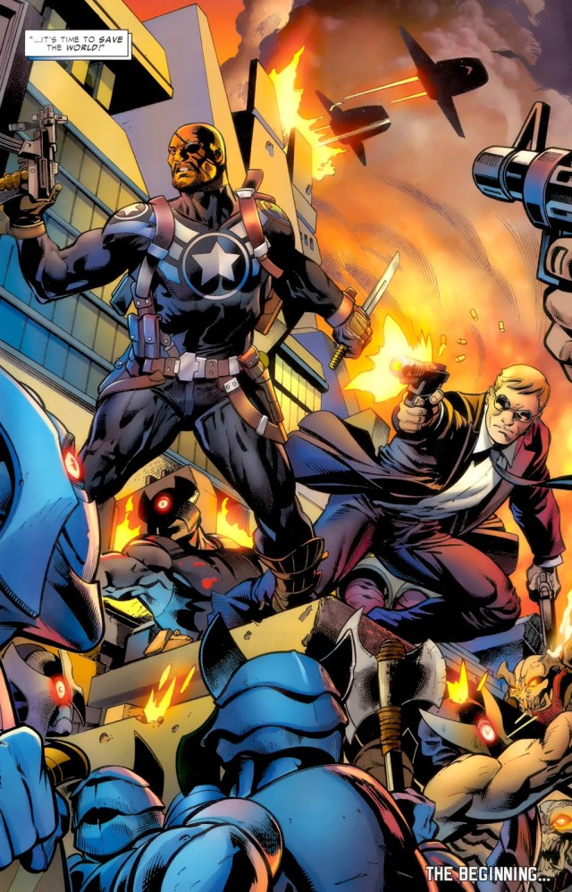Nick Fury JR And Phil Coulson Joins SHIELD