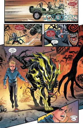 Sleeper Symbiote Can Make Napalm