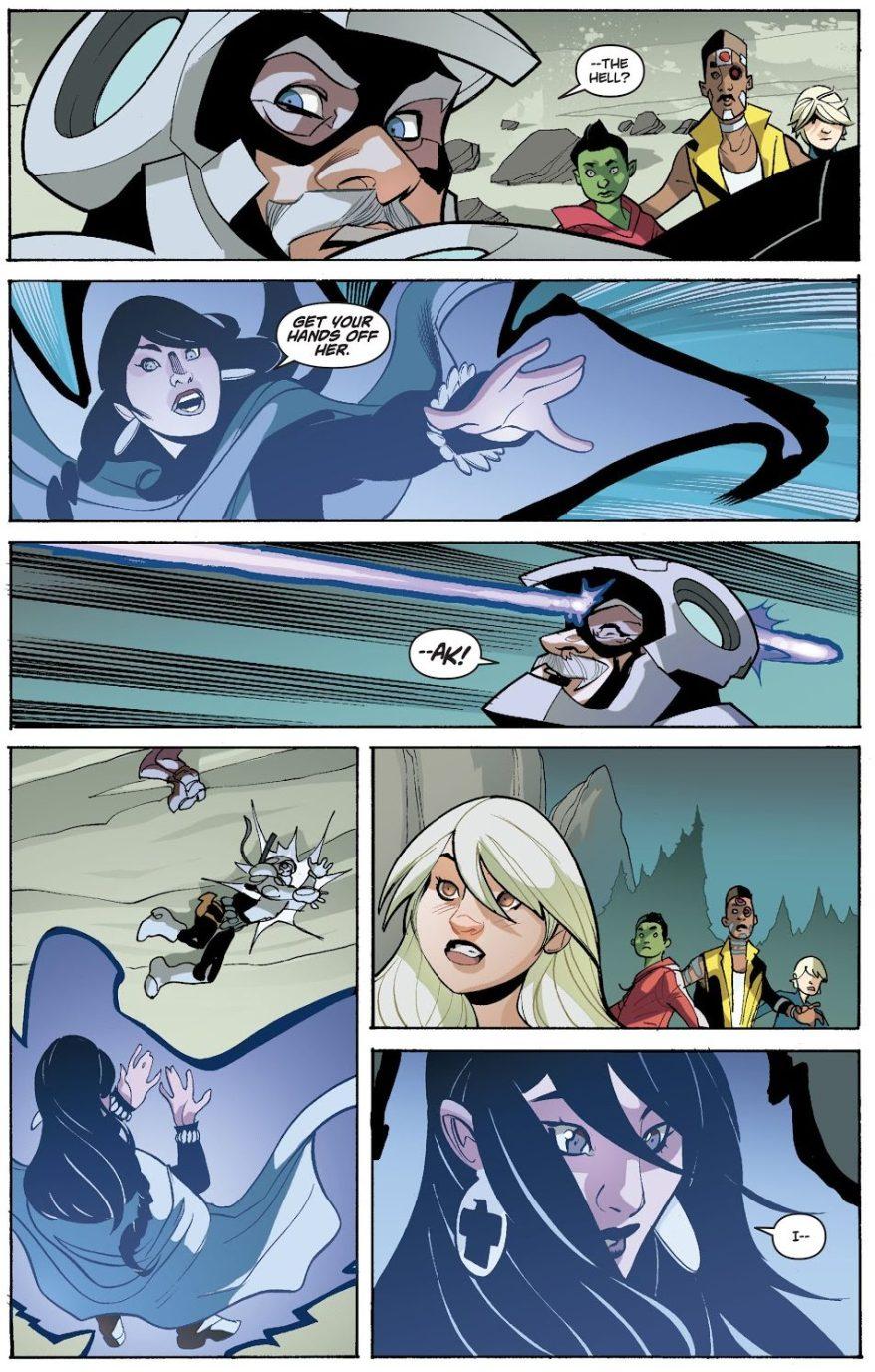 Raven-Shoots-Deathstroke-In-The-Head-Earth-1