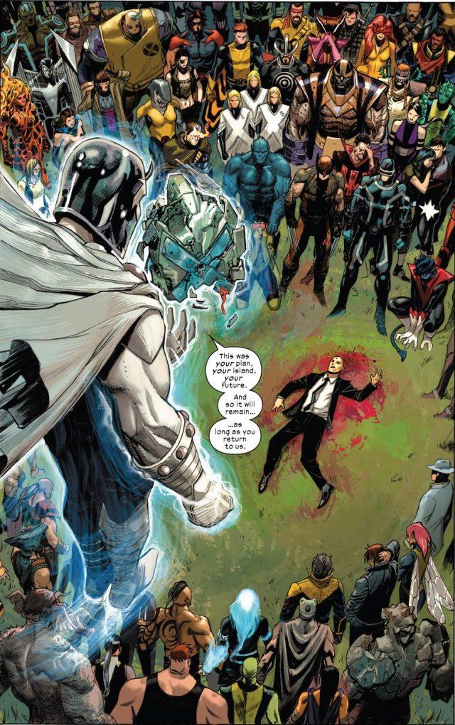 Charles Xavier Is Dead (X-Force Vol. 6 #2)