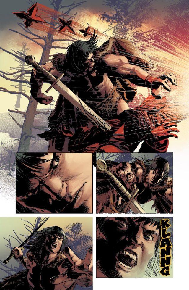 Conan The Barbarian VS Hand Ninjas