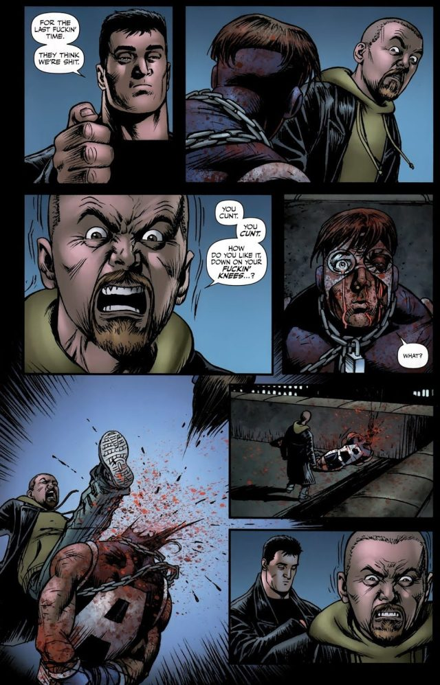 Hughie Campbell Kills A-Train