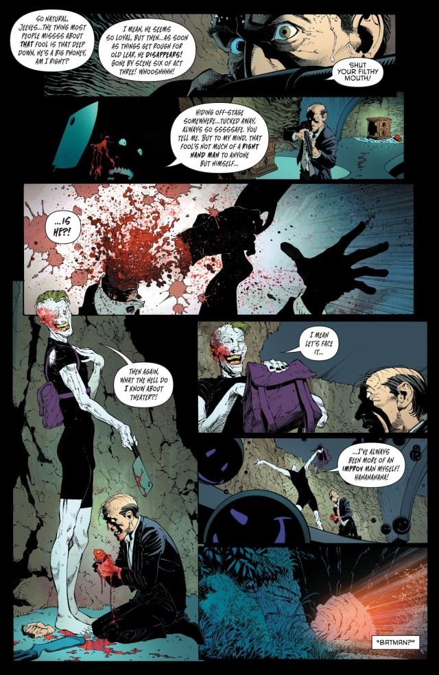 The Joker Chops Alfred Pennyworth's Hand Off