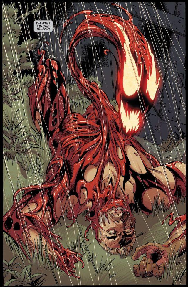 Eddie Brock With Carnage Symbiote (Venom Vol. 4 #24)
