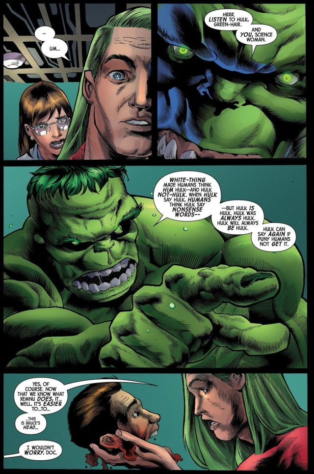 How Hulk Broke From Xenmu's Mind Control