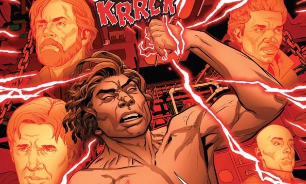 Kylo Ren Creates His Red Lightsaber