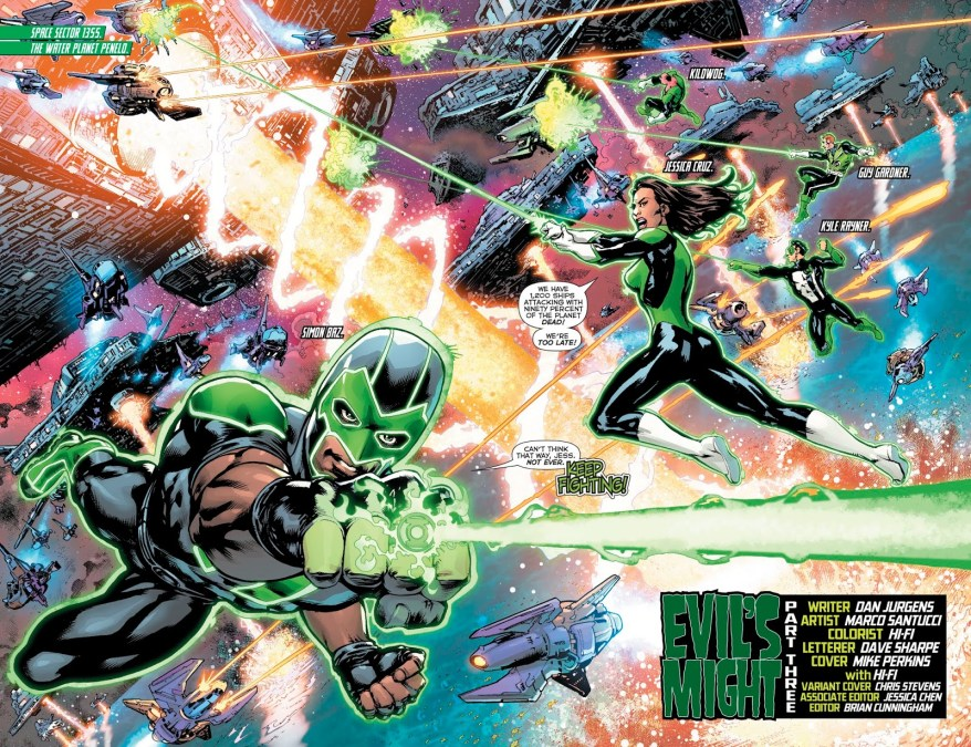 Green Lantern Corps (Green Lanterns Vol. 1 #52)