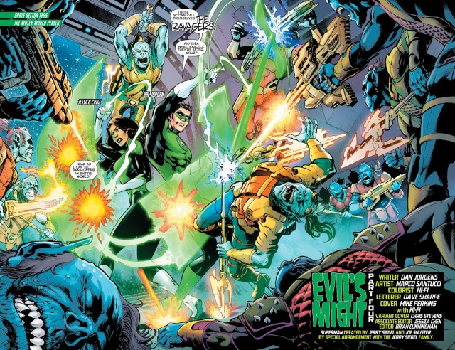 Jessica Cruz And Hal Jordan (Green Lanterns Vol. 1 #53)