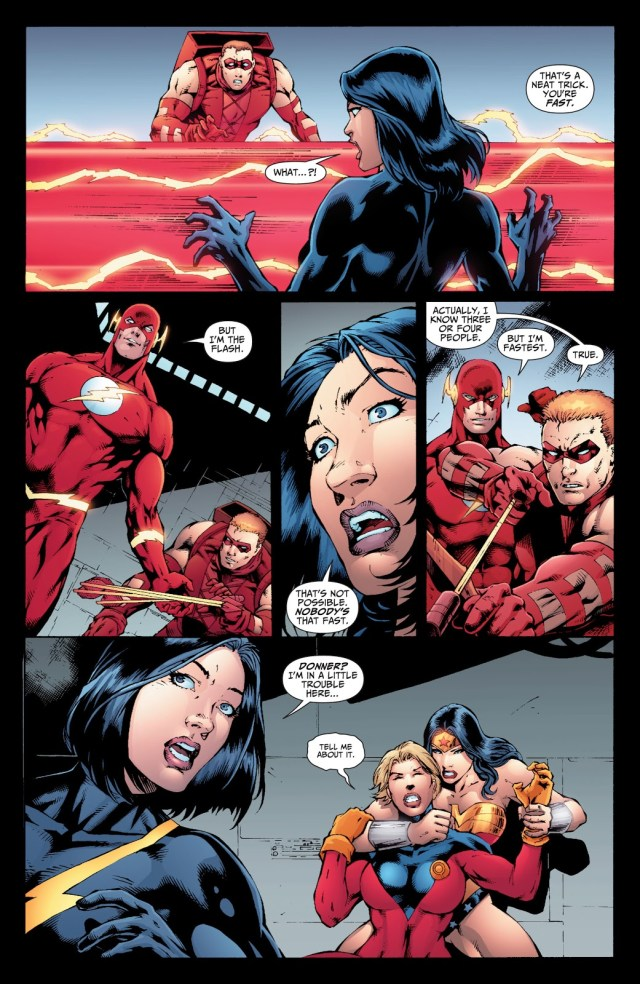 Justice League VS The Shadow Cabinet