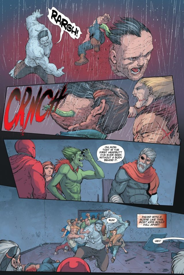 Solomon Grundy Kills Zombie Bane (DCeased)