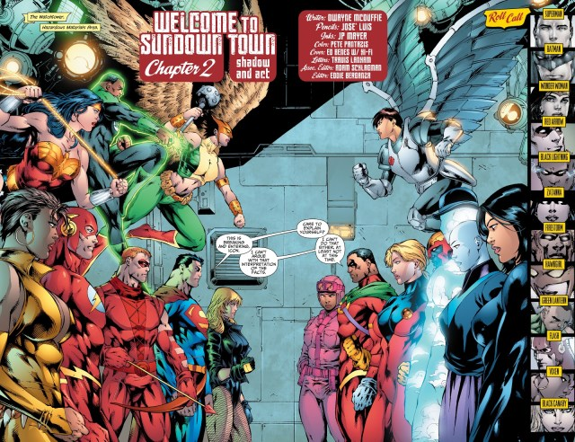 The Shadow Cabinet (Justice League of America Vol. 2 #28)