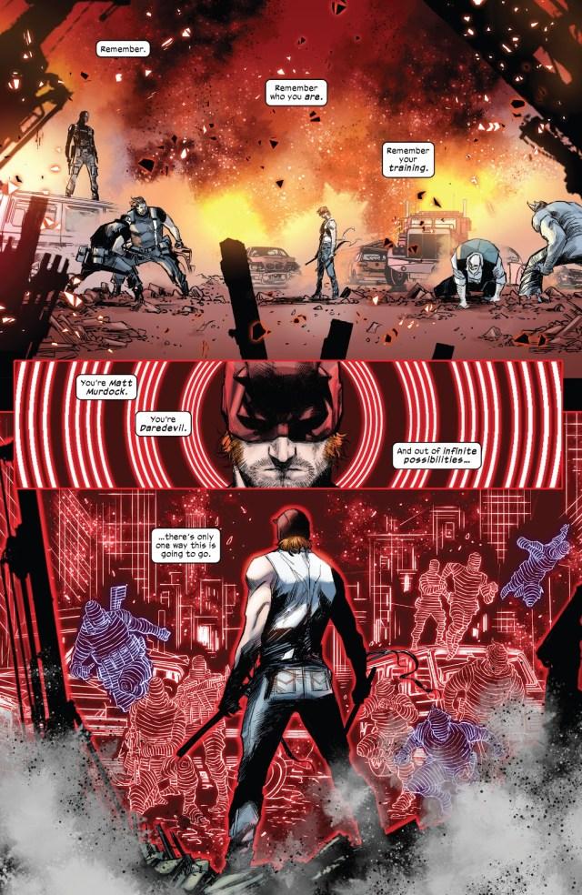 Daredevil VS Bullseye, Crossbones, Rhino And Bullet