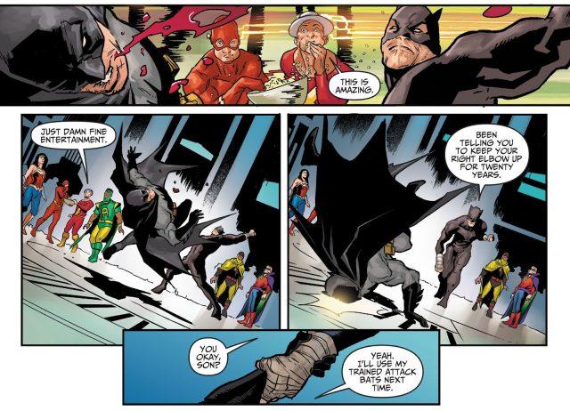 Batman VS Wildcat (Injustice Gods Among Us)