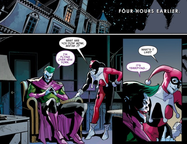 The Joker Takes Possession Of Green Lantern (Injustice)