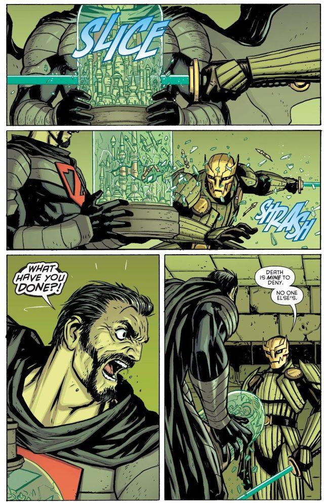 Zod VS Ra's al Ghul