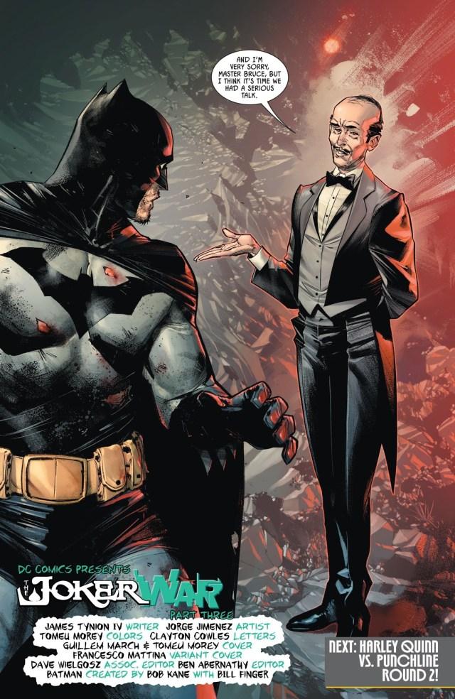 Alfred Pennyworth (Batman Vol. 3 #97)