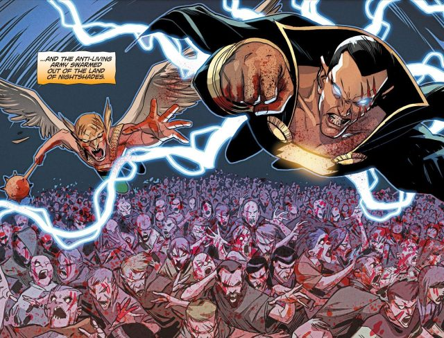 Atom Smasher Becomes A Zombie (DCeased)