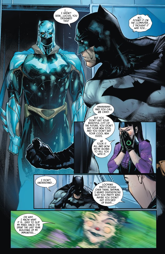 Batman's Shiny New Suit (The Joker War)