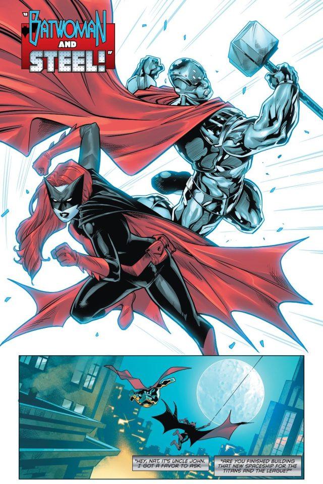 Batwoman And Steel (Batman/Superman Vol. 2 #12)