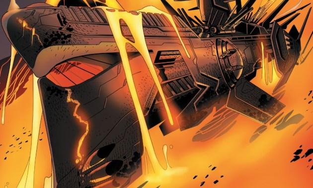 Darth Vader Destroys A Lava Leviathan