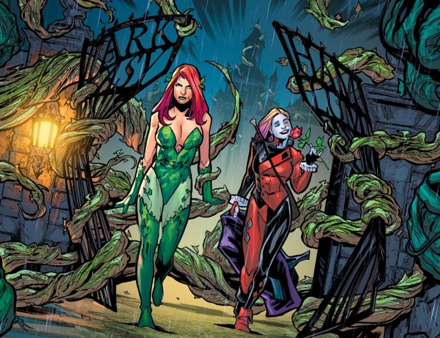 Harley Quinn And Poison Ivy (Injustice Year 0 #8)