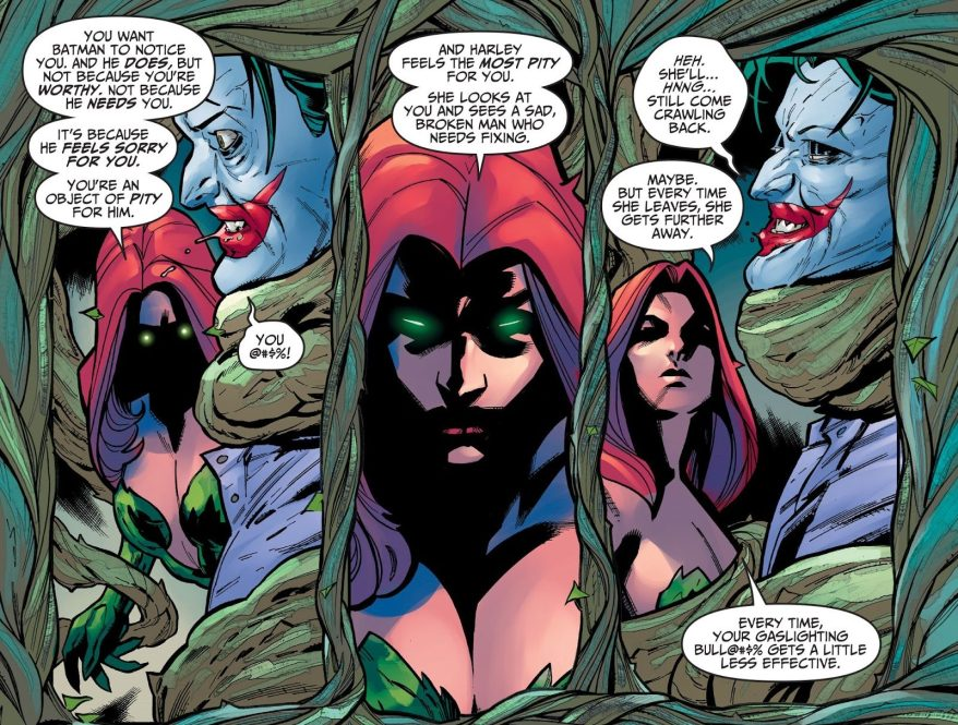 Poison Ivy Threatens The Joker (Injustice Gods Among Us)