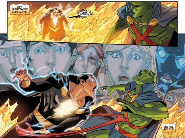 Zombie Black Adam Kills Martian Manhunter (DCeased)